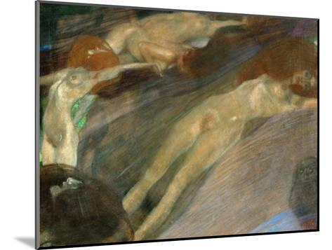 Moving Water, 1898-Gustav Klimt-Mounted Giclee Print