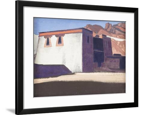 Sharugon Monastery, Tibet, 1928-Nicholas Roerich-Framed Art Print