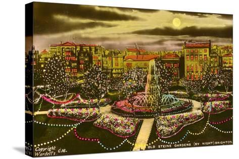 The Old Steine Gardens, Brighton, Sussex, C1940--Stretched Canvas Print