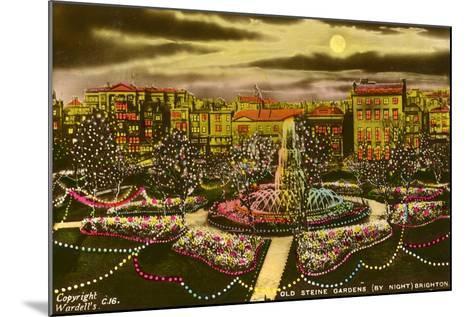 The Old Steine Gardens, Brighton, Sussex, C1940--Mounted Giclee Print