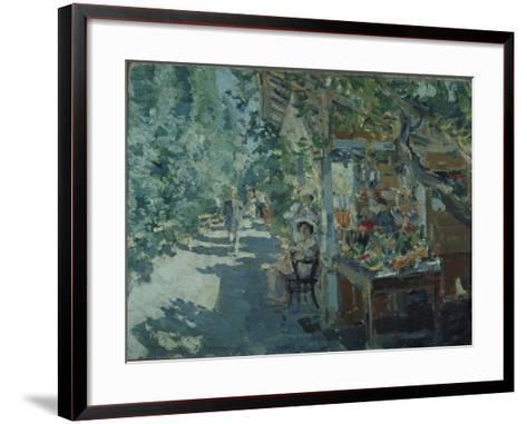 The Crimea, Fruit Store, 1913-Konstantin Alexeyevich Korovin-Framed Art Print
