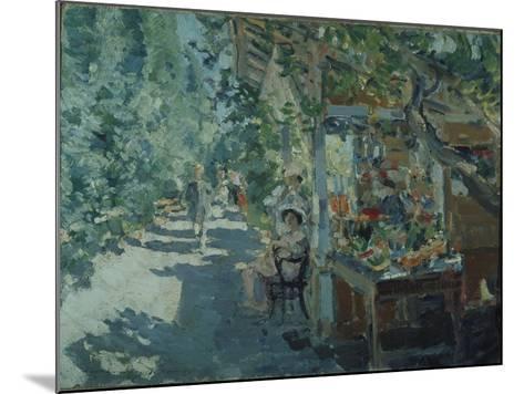 The Crimea, Fruit Store, 1913-Konstantin Alexeyevich Korovin-Mounted Giclee Print