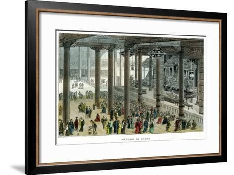 Interior of Sheba, Japan--Framed Art Print