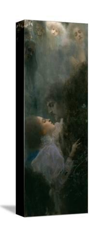 Love, 1895-Gustav Klimt-Stretched Canvas Print