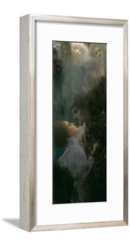Love, 1895-Gustav Klimt-Framed Art Print