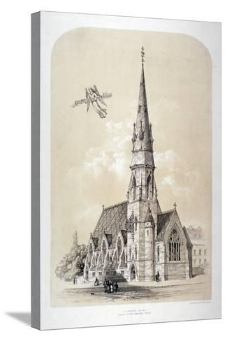 St Silas' Church, Penton Street, Finsbury, London, C1867-Day & Son-Stretched Canvas Print