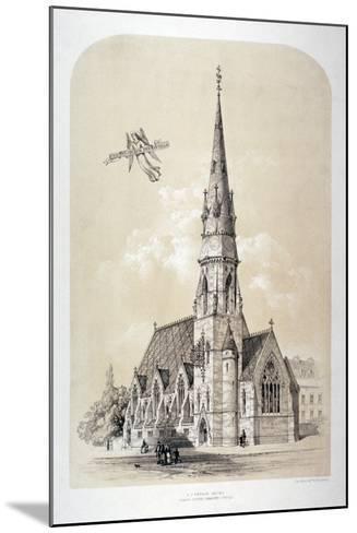 St Silas' Church, Penton Street, Finsbury, London, C1867-Day & Son-Mounted Giclee Print