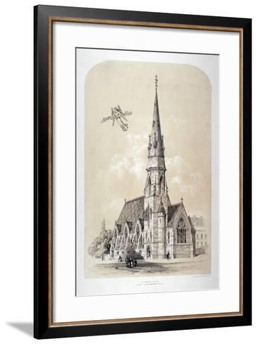 St Silas' Church, Penton Street, Finsbury, London, C1867-Day & Son-Framed Art Print