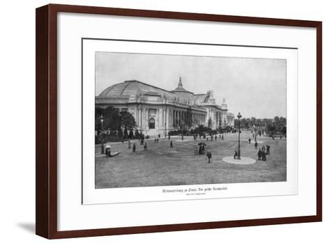 Fine Arts Palace, Paris World Exposition, 1889--Framed Art Print