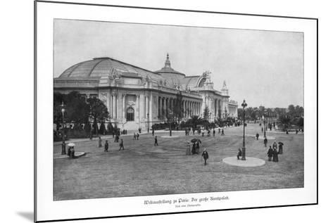 Fine Arts Palace, Paris World Exposition, 1889--Mounted Giclee Print