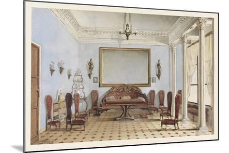Salon Interior, 1858-Andrei Alexeevich Redkovsky-Mounted Giclee Print