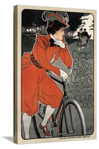 Cycles Automobiles Legia, 1898-Georges Gaudy-Stretched Canvas Print
