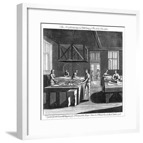 The Art of Grinding and Polishing of Plate-Glass, 1748--Framed Art Print