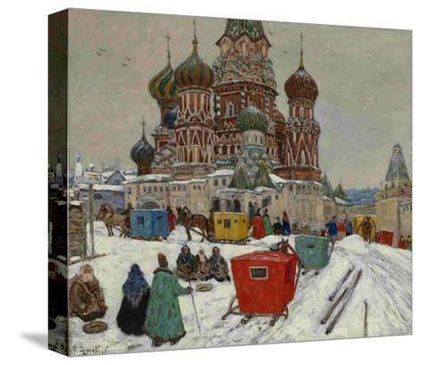 Saint Basil's Cathedral, 1939--Stretched Canvas Print