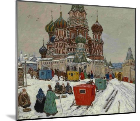 Saint Basil's Cathedral, 1939--Mounted Giclee Print
