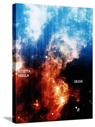 Infra-Red View of Constellation of Orion--Stretched Canvas Print