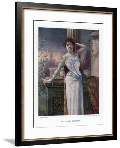 Dame Marie Tempest, English Singer and Actress, 1901- Ellis & Walery-Framed Art Print