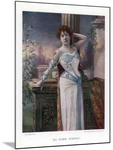 Dame Marie Tempest, English Singer and Actress, 1901- Ellis & Walery-Mounted Giclee Print