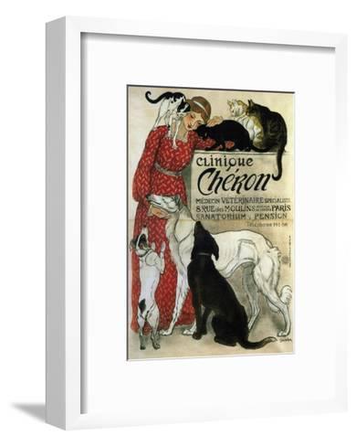 Clinique Ch?ron, 1905-Th?ophile Alexandre Steinlen-Framed Art Print