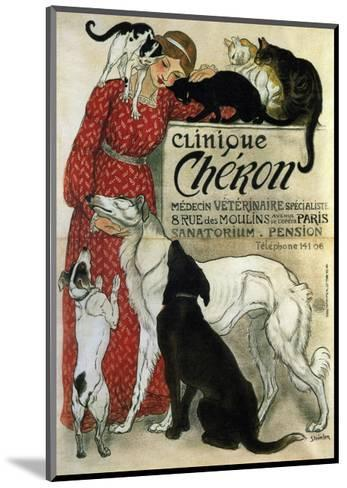 Clinique Ch?ron, 1905-Th?ophile Alexandre Steinlen-Mounted Giclee Print