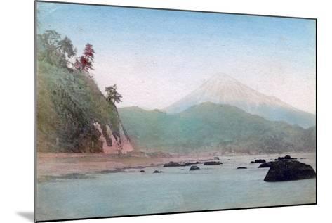 Mount Fuji, Japan--Mounted Giclee Print