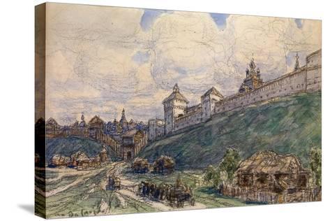 Serpukhov in the 17th Century-Appolinari Mikhaylovich Vasnetsov-Stretched Canvas Print