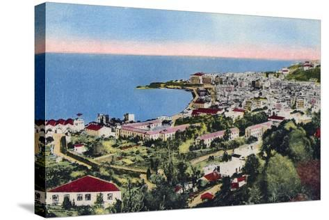 The Bay of Algiers, Algiers, Algeria, Early 20th Century--Stretched Canvas Print