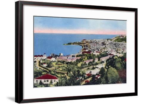 The Bay of Algiers, Algiers, Algeria, Early 20th Century--Framed Art Print