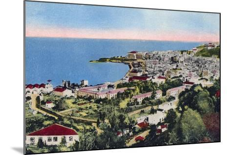 The Bay of Algiers, Algiers, Algeria, Early 20th Century--Mounted Giclee Print