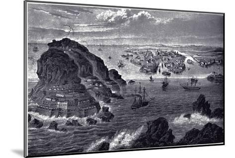 View of Helsingfors, Ca 1855--Mounted Giclee Print