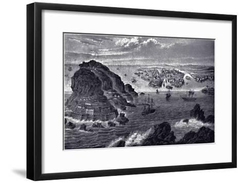 View of Helsingfors, Ca 1855--Framed Art Print