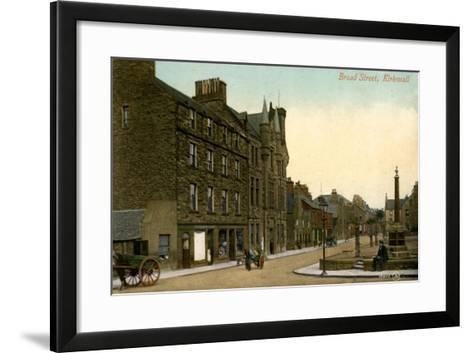 Broad Street, Kirkwall, Orkney, Scotland, 20th Century--Framed Art Print