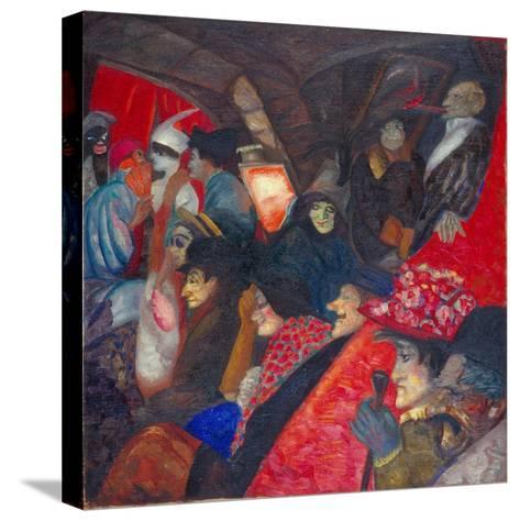 Cabaret Black Cat, 1913-Boris Dmitryevich Grigoriev-Stretched Canvas Print
