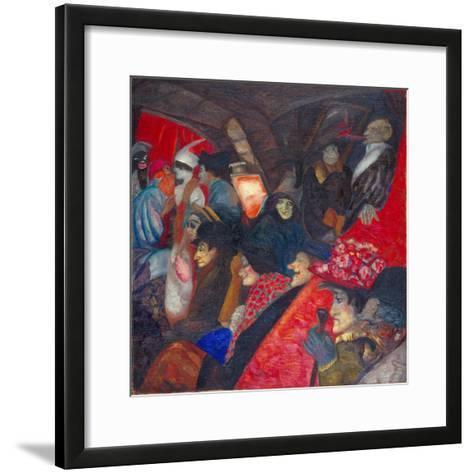 Cabaret Black Cat, 1913-Boris Dmitryevich Grigoriev-Framed Art Print