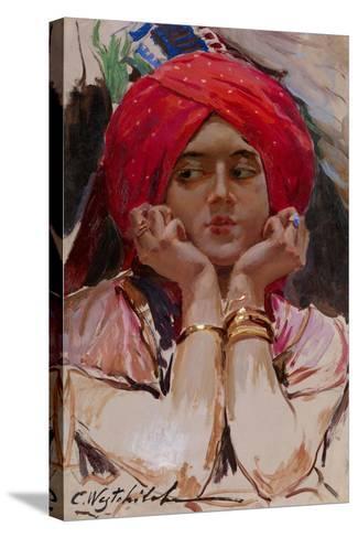 The Persian Princess-Konstantin Alexandrovich Veshchilov-Stretched Canvas Print