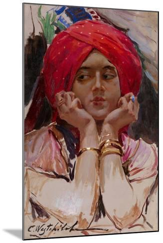 The Persian Princess-Konstantin Alexandrovich Veshchilov-Mounted Giclee Print