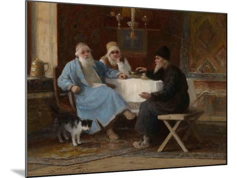 Conversation, 1909-Ivan Andreyevich Pelevin-Mounted Giclee Print