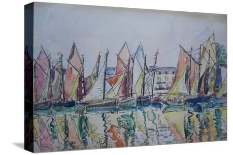 Le Pouliguen, 1929-Paul Signac-Stretched Canvas Print