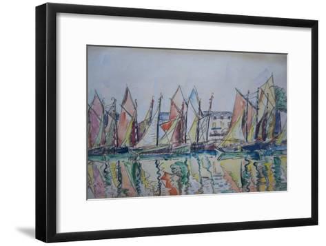Le Pouliguen, 1929-Paul Signac-Framed Art Print