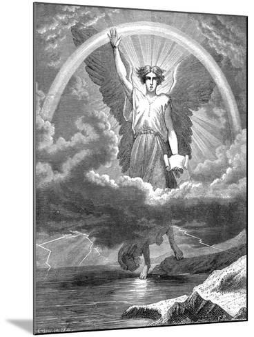The Angel with the Book, Bible Revelation 10:1-6, 1860--Mounted Giclee Print