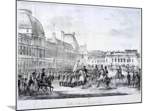 Installation of the Government at Tuileries, 19th Century--Mounted Giclee Print