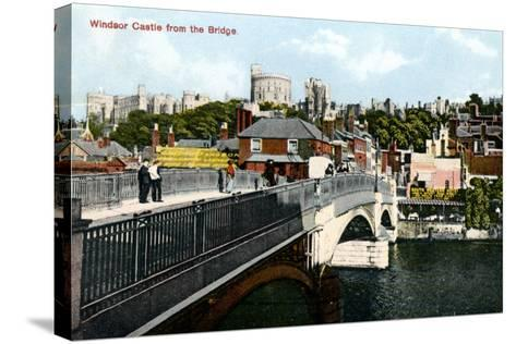 Windsor Castle, Windsor, Berkshire, Early 20th Century--Stretched Canvas Print