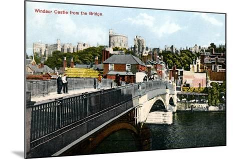 Windsor Castle, Windsor, Berkshire, Early 20th Century--Mounted Giclee Print