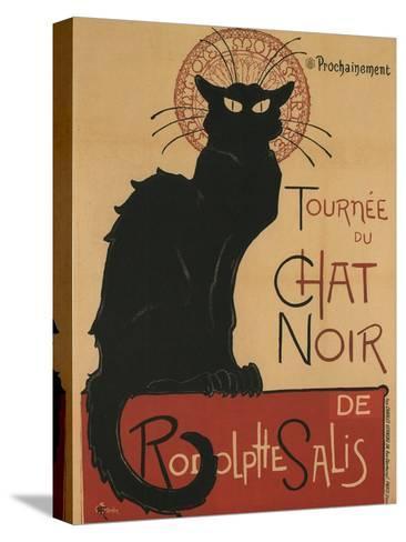 Tournee Du Chat Noir, 1896-Th?ophile Alexandre Steinlen-Stretched Canvas Print