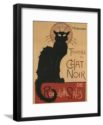 Tournee Du Chat Noir, 1896-Th?ophile Alexandre Steinlen-Framed Art Print