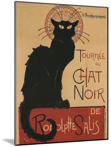Tournee Du Chat Noir, 1896-Th?ophile Alexandre Steinlen-Mounted Giclee Print