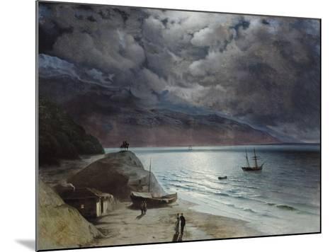 Night at Gurzuf, 1891-Ivan Konstantinovich Aivazovsky-Mounted Giclee Print
