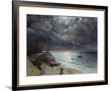 Night at Gurzuf, 1891-Ivan Konstantinovich Aivazovsky-Framed Art Print