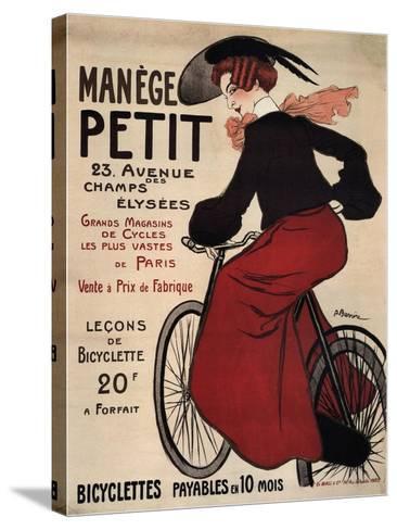 Manège Petit, 1899-Adrien Barrère-Stretched Canvas Print