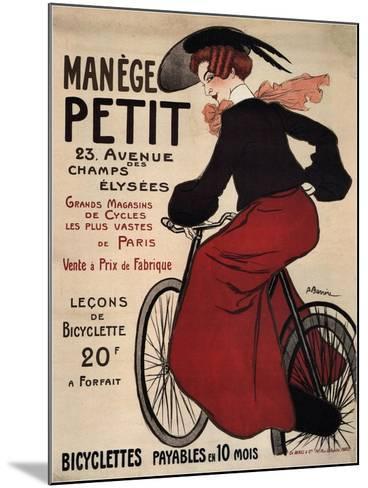 Manège Petit, 1899-Adrien Barrère-Mounted Giclee Print
